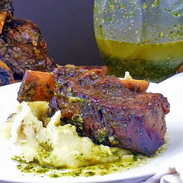Chimichurri Braised Beef Short Ribs