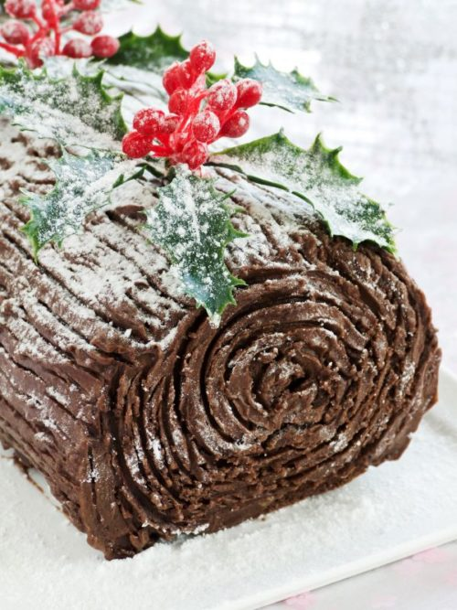 Chocolate Yule Log Tutorial